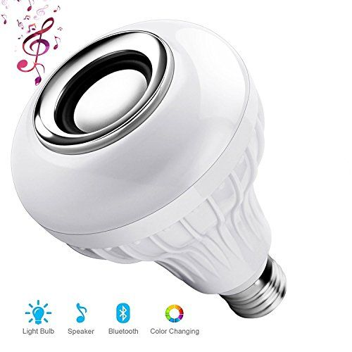 Led Light Bulb With Integrated Bluetooth Speakersunnysam Bluetooth Music Bulb E27 Led Light 30 6w 100240v Smart Rgb C Color Changing Lights Led Light Bulb Bulb