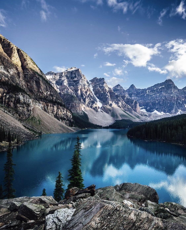 Moraine Lake Banff National Forrest Peter Mckinnon