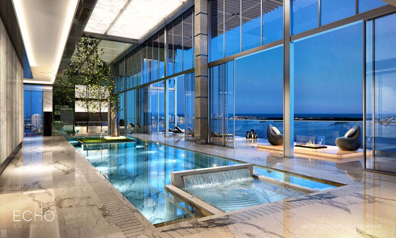 5 stunning miami beach penthouses with pool miami beach for Pool apartments