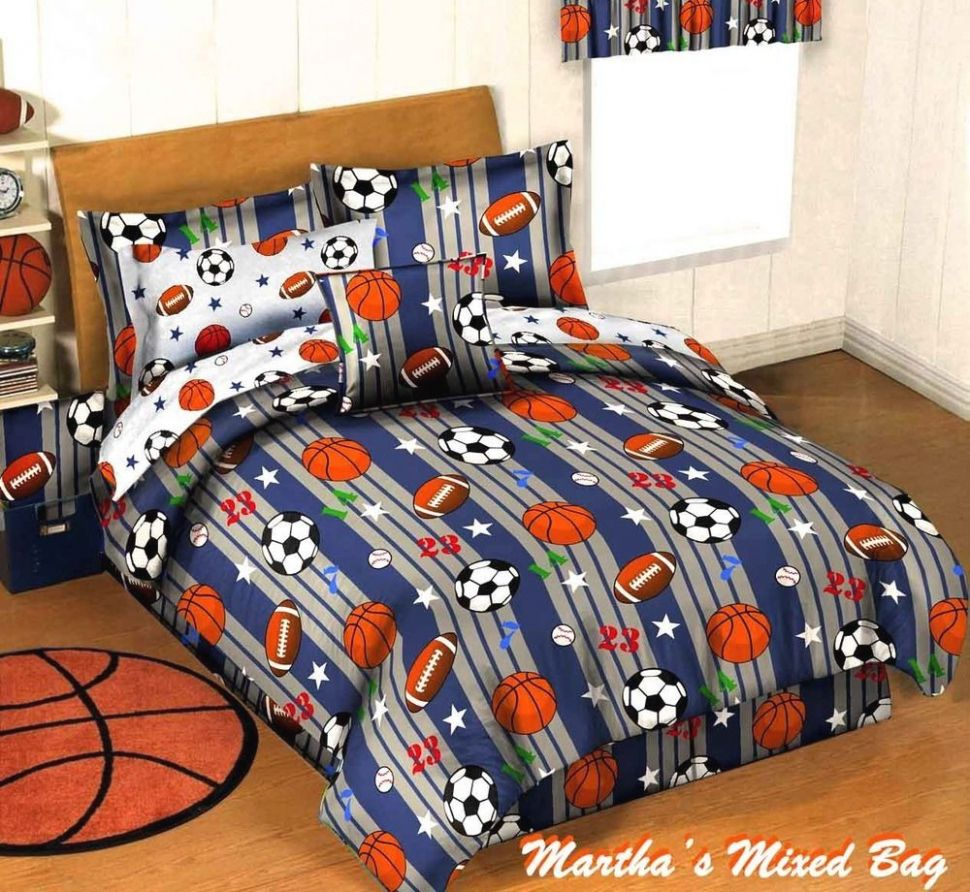 Magnificent All Sports Comforter Set Your House Inspiration
