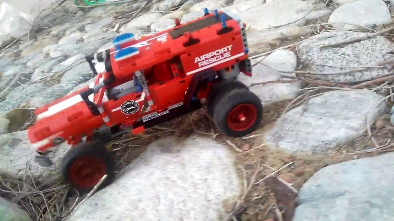 Lego Technic 42075 First Responder Rc Mod Lego Technic Lego Toy Car