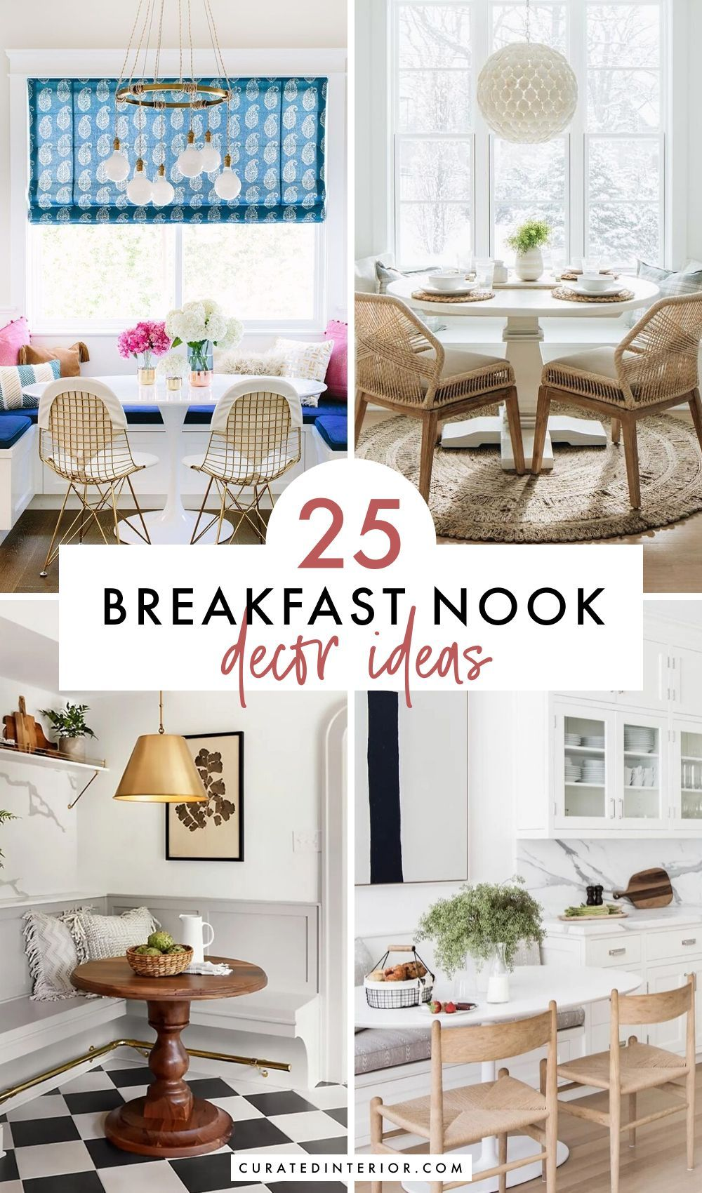 25 Breakfast Nook Decor Ideas In 2020 With Images Nook Decor