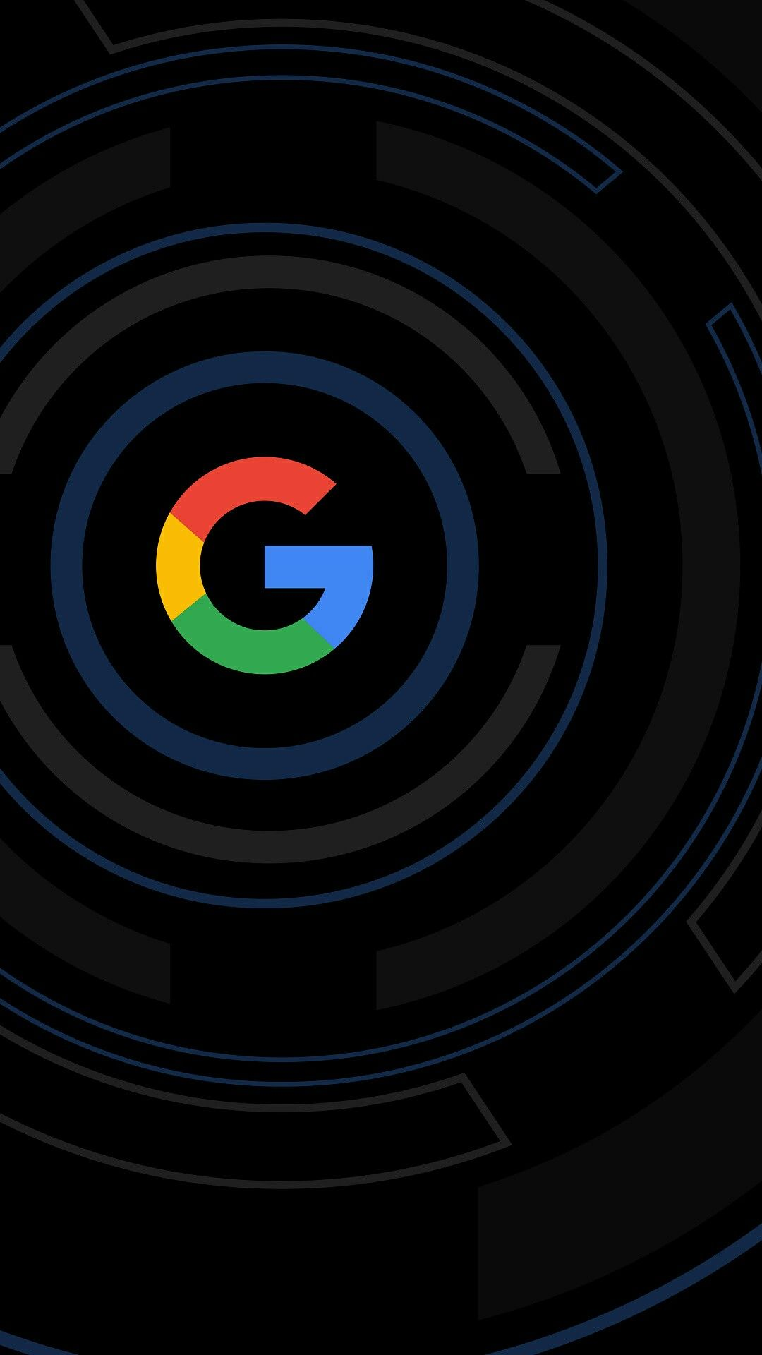 Black Google Wallpaper