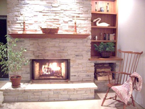 Cultured Stone Fireplaces | Cultured Stone Fireplace Mantels ...