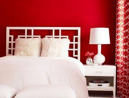 Schlafzimmer Streichen Ideen Rot
