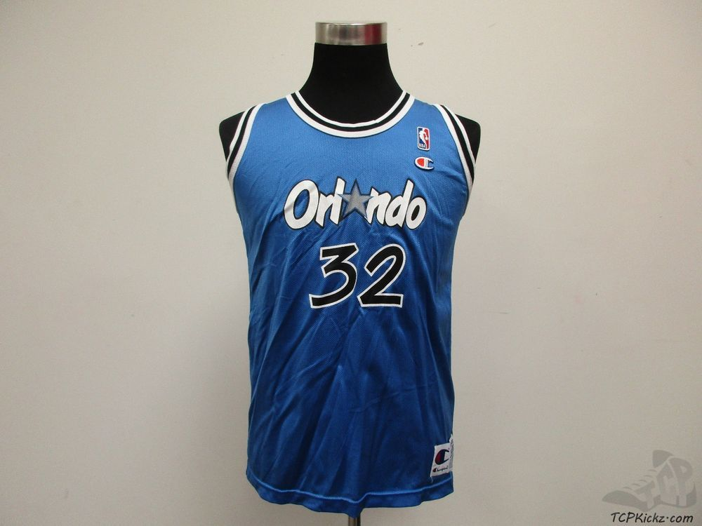 1509743fdcf Vtg 90s Champion Orlando Magic Shaquille Oneal Shaq  32 Jersey sz Youth XL  18-20  Champion  OrlandoMagic