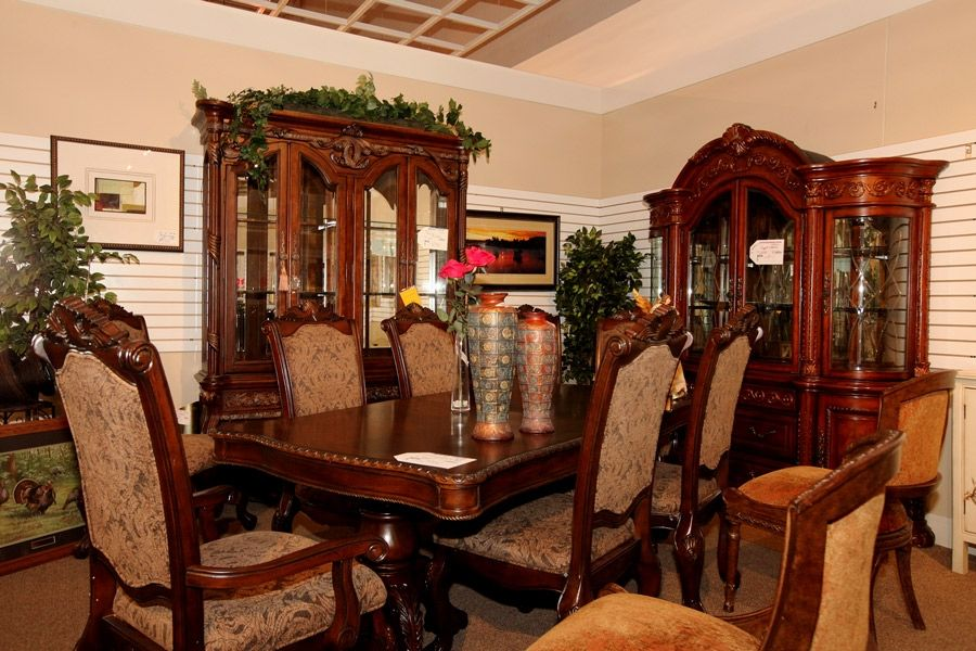 dining room sets las vegas | Traditional Dining Set - Colleen's Classic Consignment ...