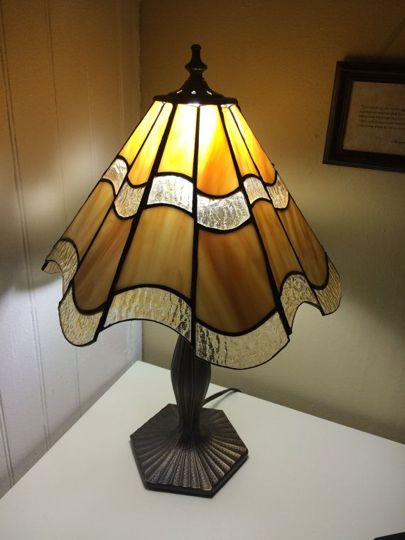 6 panel stained glass lamp shade lampe pinterest vidrio 6 panel stained glass lamp shade aloadofball Image collections
