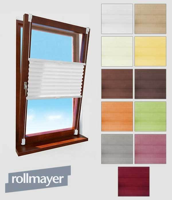 Fenster Plissee Klemmfix Selbstklebende Faltenrollo