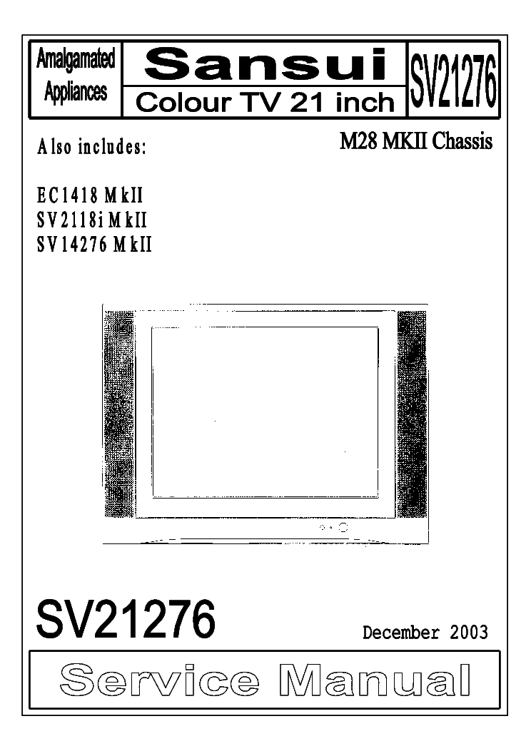 Sansui Tv Circuit Diagram Free Download (With images
