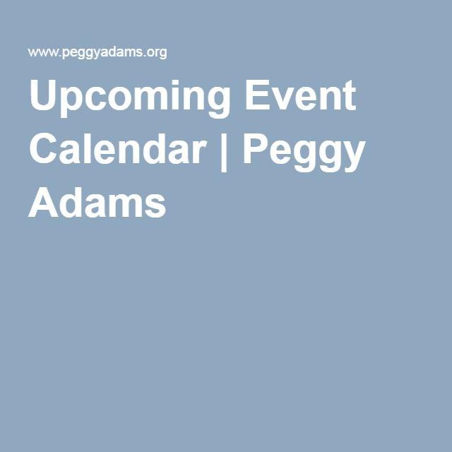 Upcoming Event Calendar Peggy Adams Event Calendar Upcoming Events Event