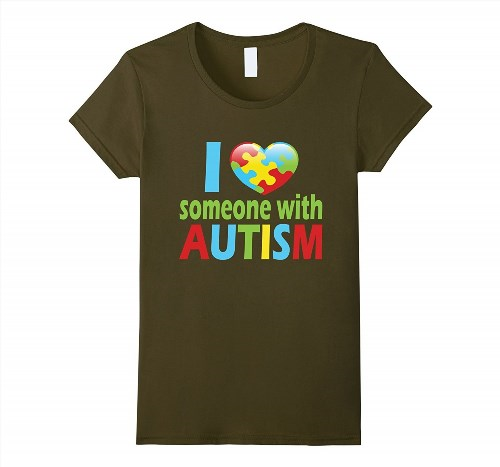 19.95$  Watch here - http://vizfp.justgood.pw/vig/item.php?t=j4f9sor45198 - I love someone with Autism t shirt Women 19.95$