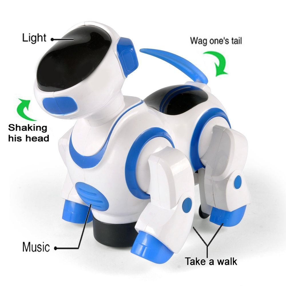 Toys For Boys Toy Kids Walk Dancing Robot Dog 6 7 8 9 10 Year Old