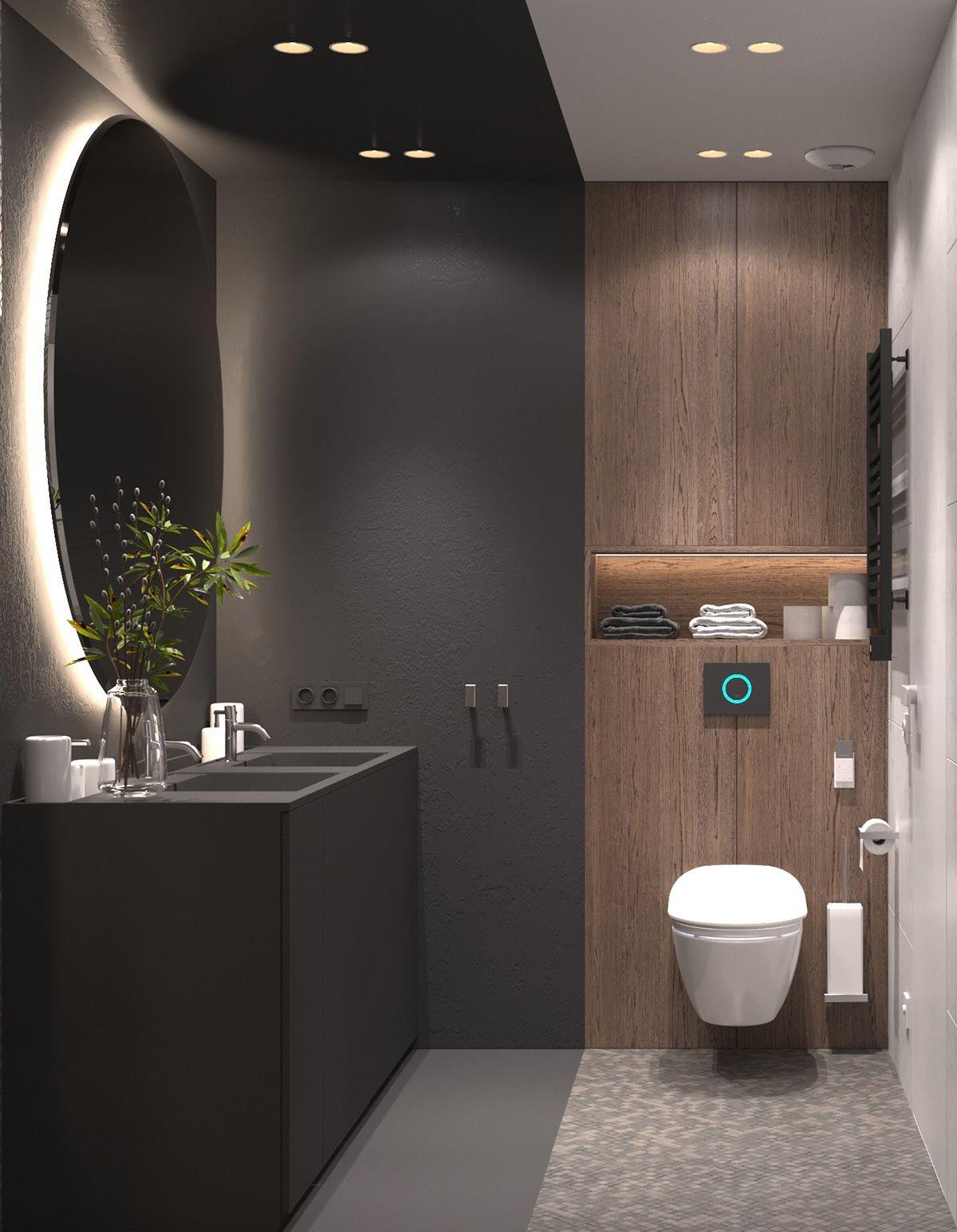 Warm Interior Design With A Soft Lighting Scheme Top Bathroom Design Bathroom Interior Design Bathroom Design Small