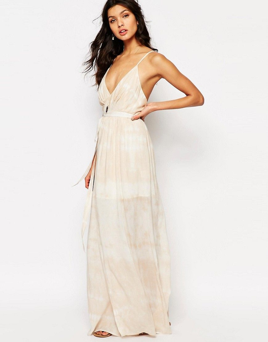 Image 1 of The Jetset Diaries Kingston Wrap Maxi Dress in Tie Dye ...