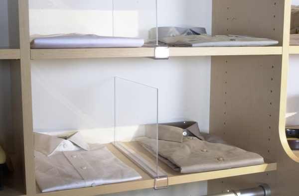 Merveilleux Closet Shelf Dividers Diy (600×394)