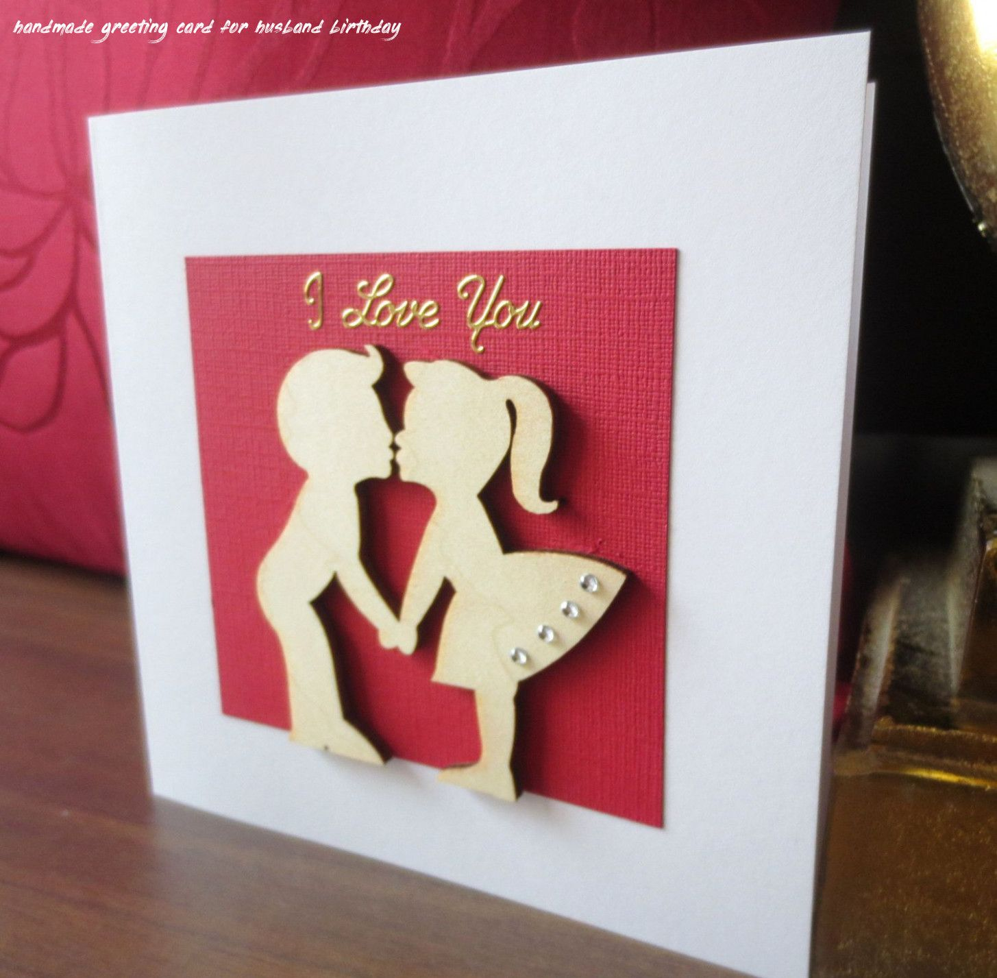 6 Handmade Greeting Card For Husband Birthday Anniversary Cards Handmade Greeting Cards Handmade Valentine Cards Handmade