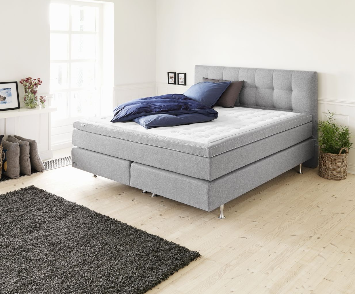 Boxspring 180x200 Boxspring 180x200 HØie 200 Bedroom Pinterest Bedrooms And Doors