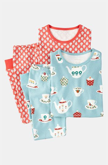 ac43b260e152c Mini Boden Fitted Pajamas (2-Pack) (Little Girls   Big Girls) available at   Nordstrom