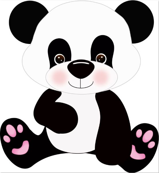 Paper Pulse Blog Spot: Panda Bear Cutie | CLIPART | Pinterest | Osos ...
