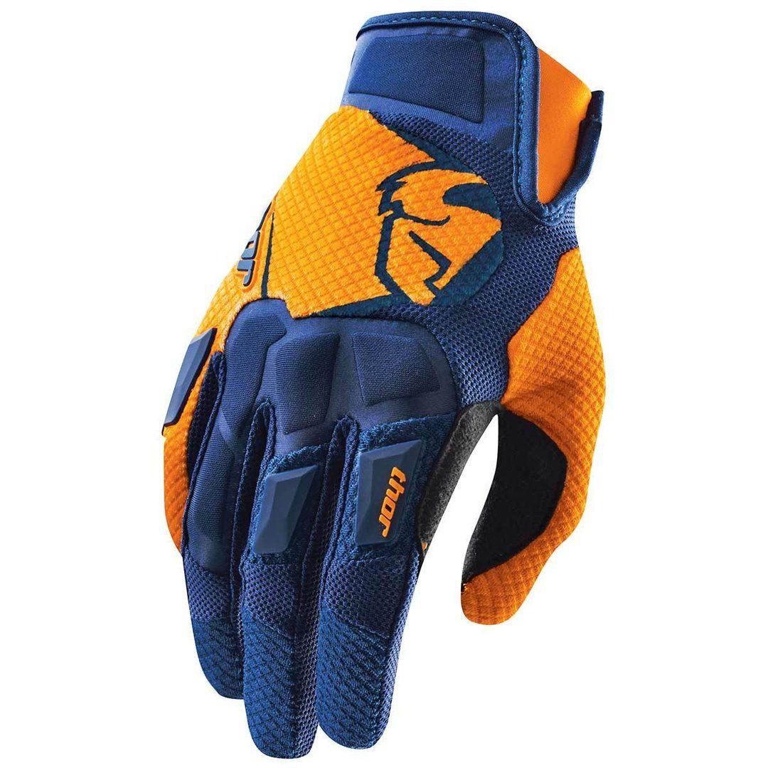THOR MX Motocross Men/'s 2018 SPECTRUM Gloves Large L Navy//Blue