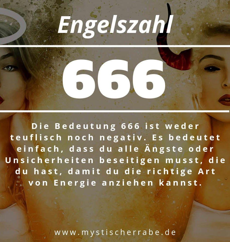 Engelszahl 666 und ihre Bedeutung-Warum siehst du 666