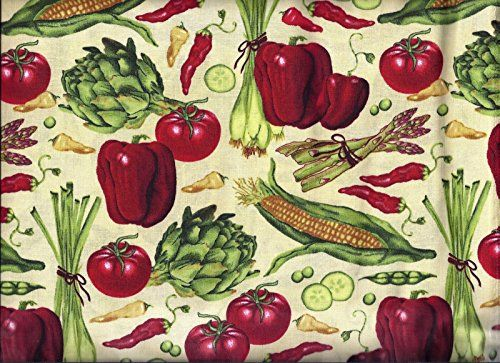 Perfect Red Chili Pepper Kitchen Curtains