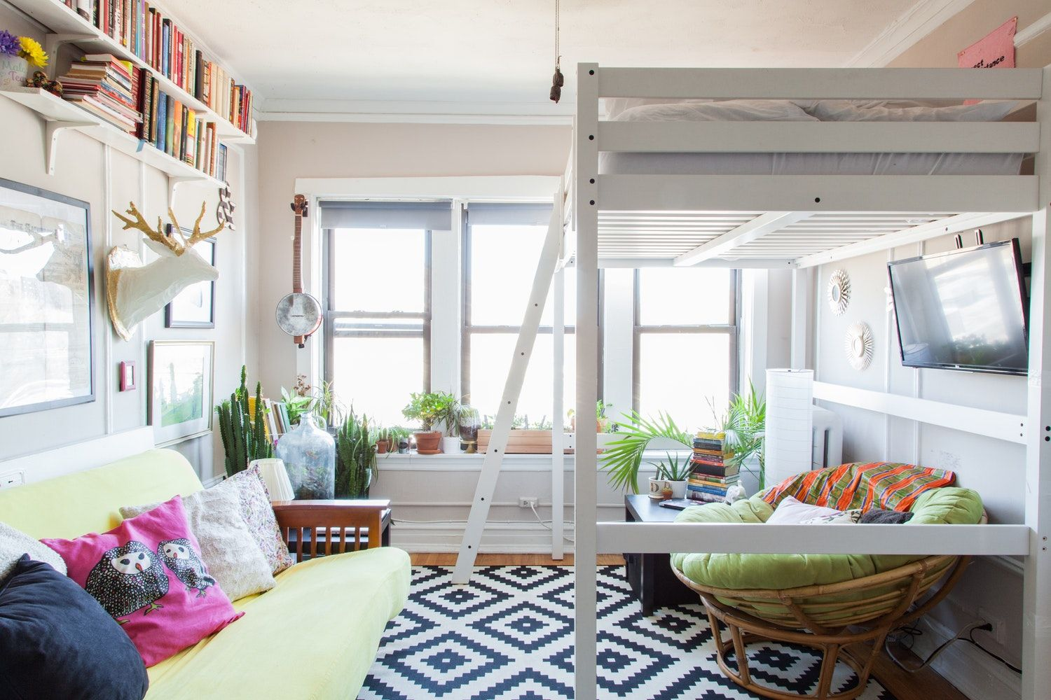 Small room loft bed ideas  A SquareFoot