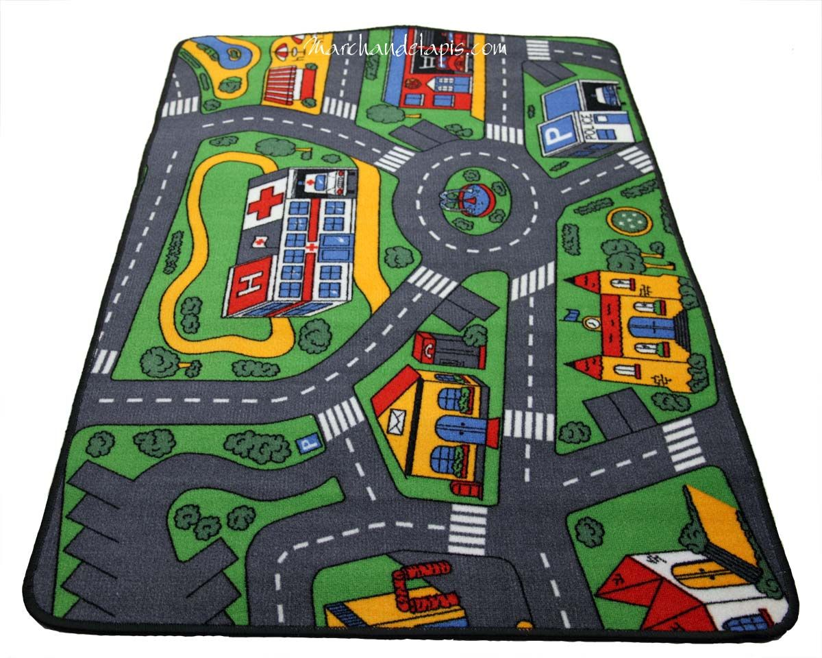 tapis de circuit voiture tapis enfant