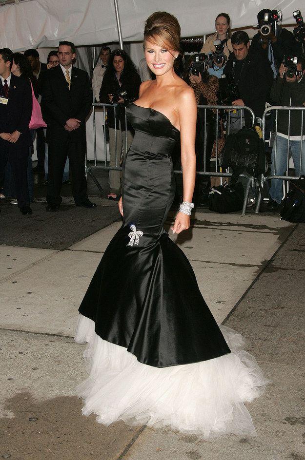 And Melania Trump Dressed Like A Feather Duster Met Gala Looks Met Gala Dresses Gowns Of Elegance