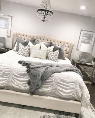 59 creative ways grey and white bedroom ideas cozy 91 in 2019 rh pinterest com