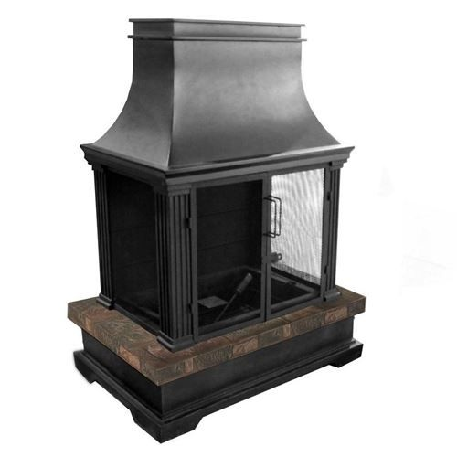 Bond Manufacturing 66595 Sevilla Propane Gas Outdoor Fireplace Fire Pits Outdoor Outdoor