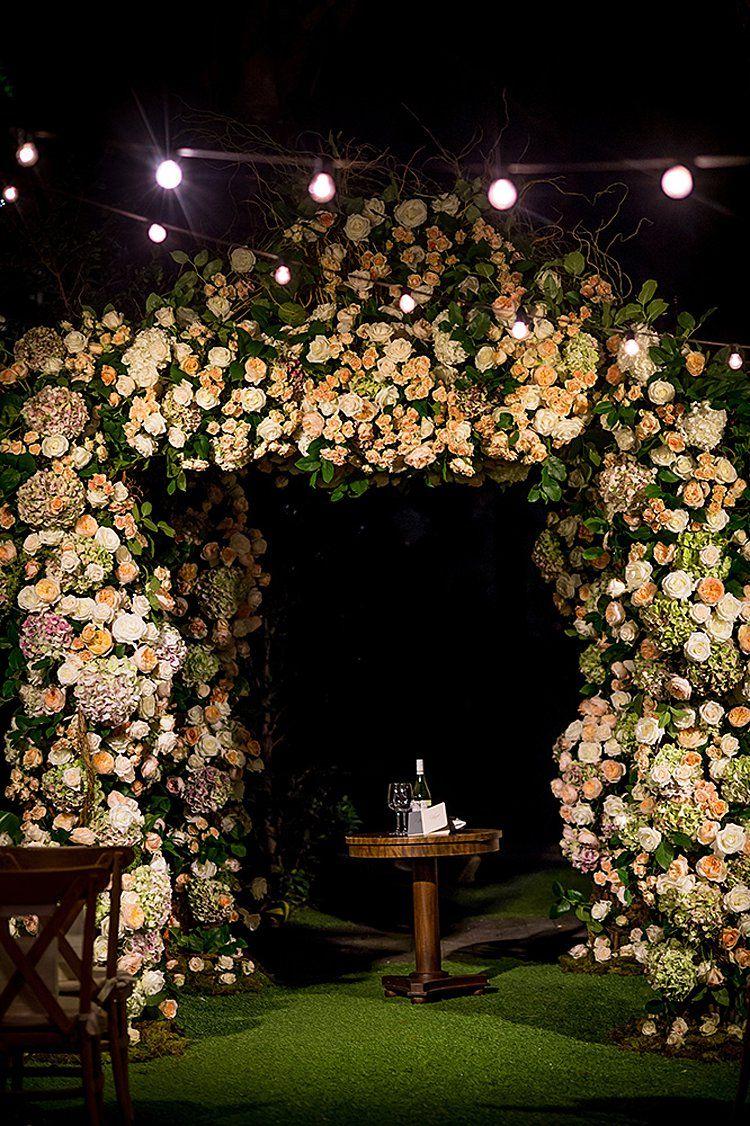 An Ines Di Santo Bride for a Super Luxe Secret Garden Destination ...