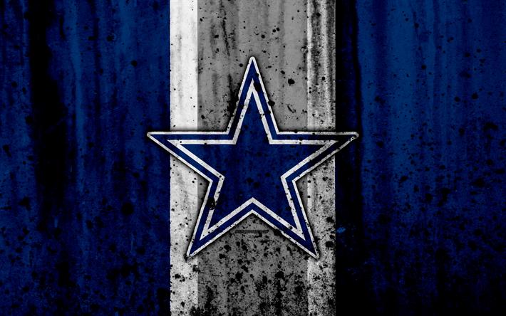 Download Wallpapers 4k Dallas Cowboys Grunge Nfl American Football Nfc Logo Dallas Cowboys Wallpaper Dallas Cowboys Football Dallas Cowboys Football Team