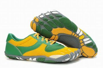best sneakers 12512 08f66 Vibram Five Fingers Speed Green Yellow White Grey Men s 26073