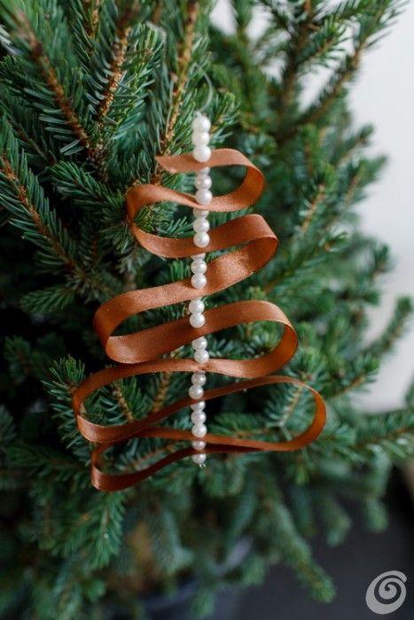 addobbi_natale_faidate_nastro_perline | Christmas ...