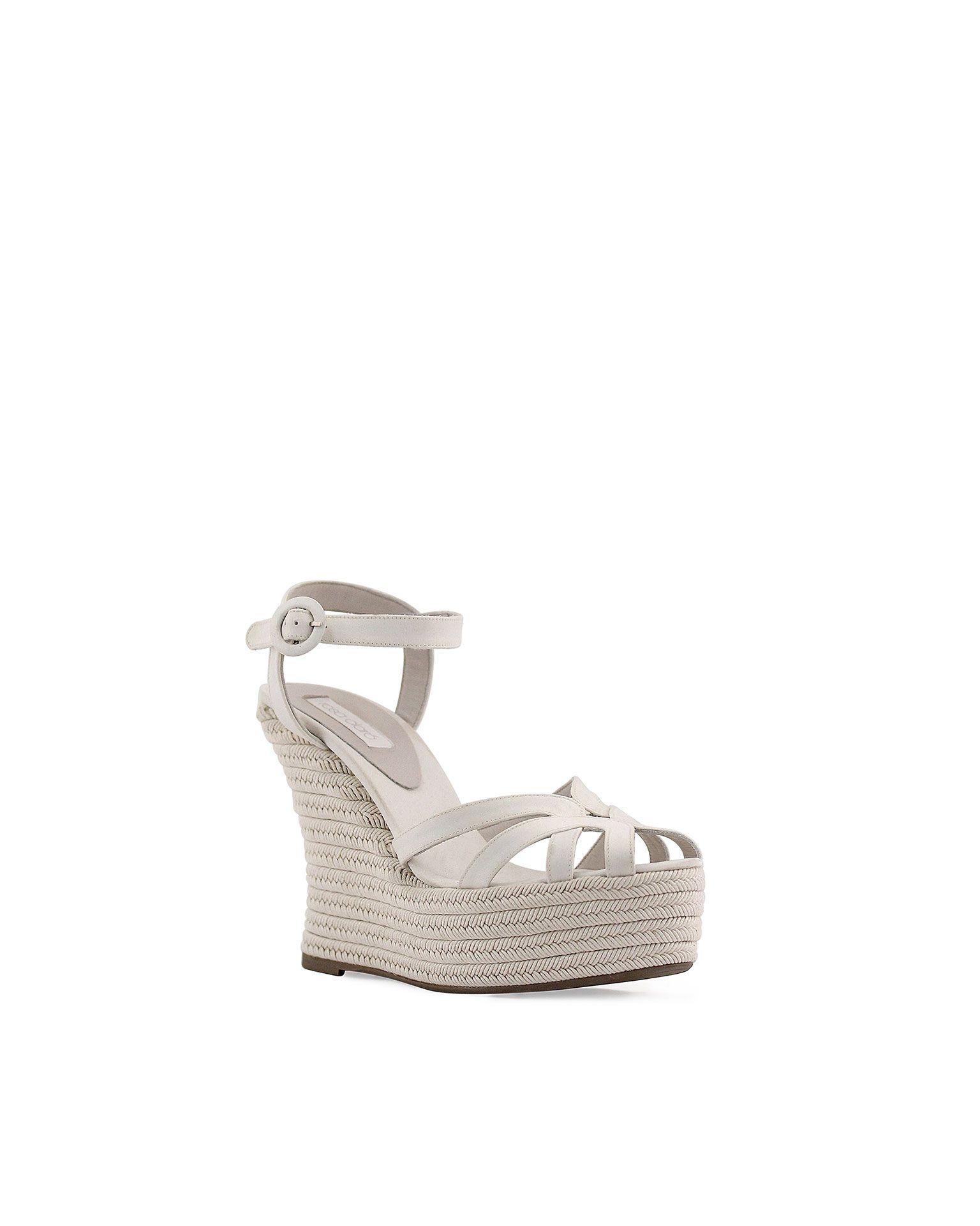 Zapatos blancos Rosa Clara