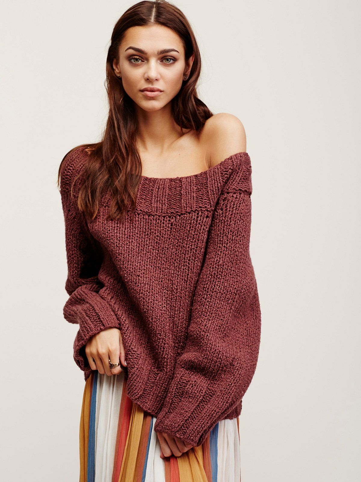 Beachy Slouch Sweater | Effortless sweater featuring a slouchy ...
