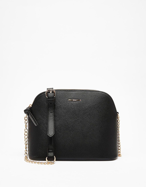 Ladybag with thin chain strap - Bags - Bershka United Kingdom ... 0b370d741e0b8