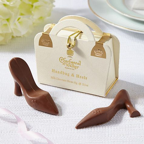 Charbonnel Et Walker Milk Chocolate White Handbag And Heels 60g Online At Johnlewis