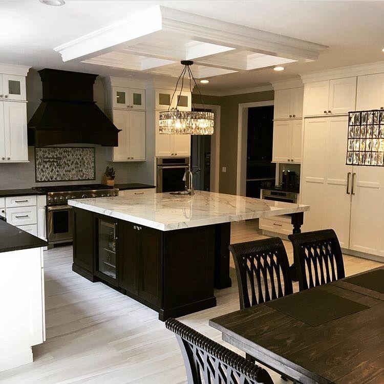 Luxury Transitional Kitchen Island Kitchen Design Kitchen Transitional Kitchen