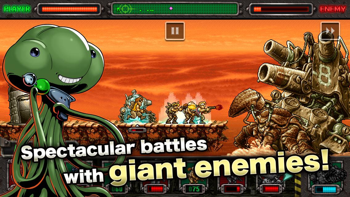 Image result for METAL SLUG Games, Android apk, Hack online