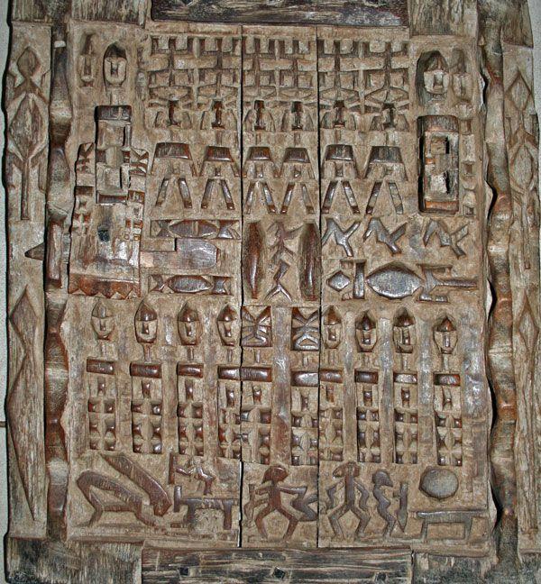 dogon door - Google Search & dogon door - Google Search | African Carved Wood Doors | Pinterest