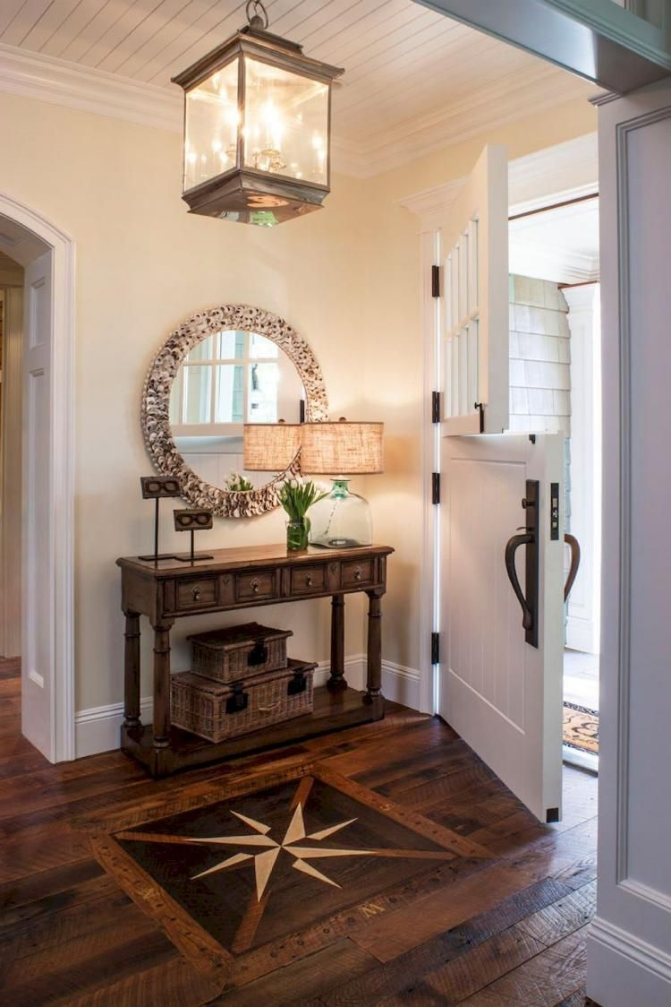 Fabulous Foyer Decorating Ideas: Fabulous Rustic Farmhouse Entryway Decorating Ideas