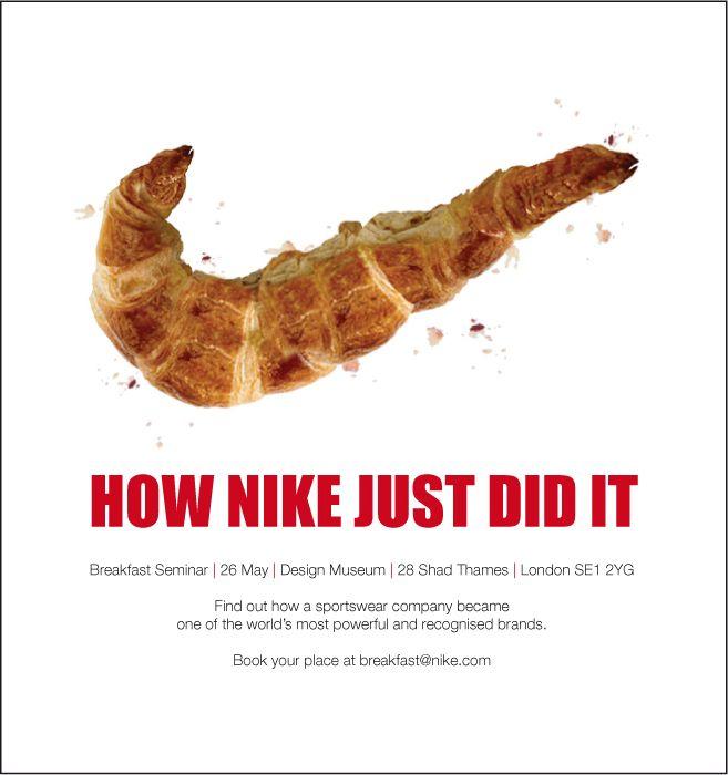 Creativefanclub Nike Breakfast Seminar Invitation An Email
