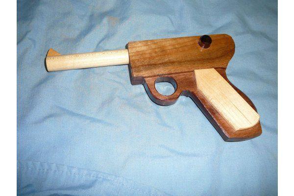 Wooden Toy Guns Wooden Pistol Wooden Toy Shotgun