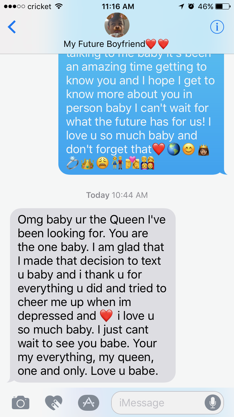 Pin By Sophia Ross On Funny Texts My Future Boyfriend Funny Texts Love U So Much