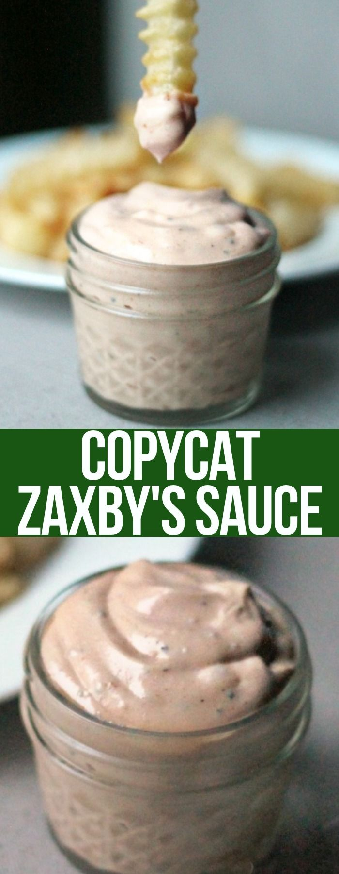 Best Ever This Signature Zaxby S Sauce Is Perfect Dip For En Or French Fries With Only A Handful Of Ing Salad Dressing Sauces Marinades