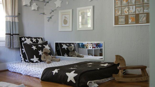 Decorar la habitaci n del beb con espejos ambientes for Decoracion habitacion infantil montessori