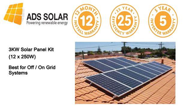 Ads Solar Provide Installation Of 3kw Solar Panel Kit 12 250w Watts On A Budget In Sydney Australia Solar Power Diy Solar Panel Kits Solar Panel Cost